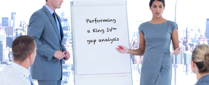 King IV article: gap analysis