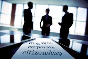 Article - King IV and corporate citizenship