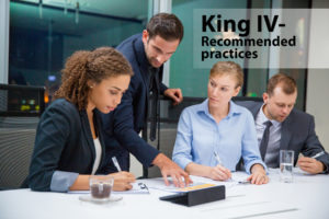 King IV - Recommended practices